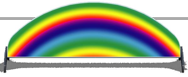 Fillers > Half Moon Filler > Rainbow
