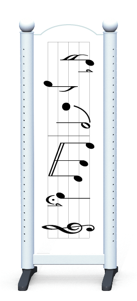 Wing > Combi M > Music Notes