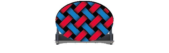 Fillers > Oval Filler > Weave