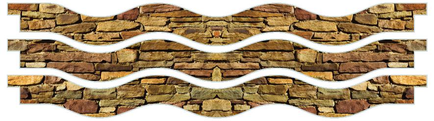 Planks > Wavy Plank x 3 > Cotswold Stone