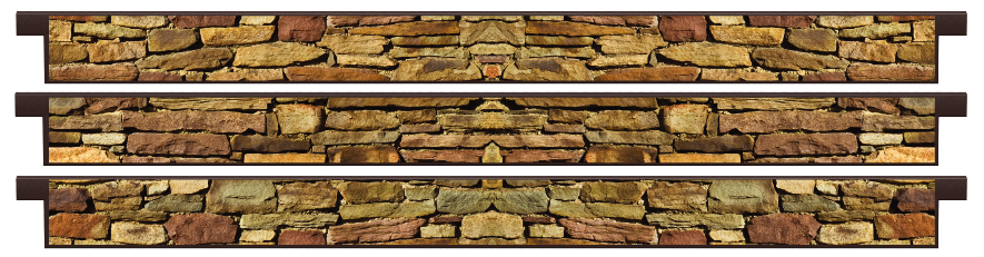 Planks > Straight Plank x 3 > Cotswold Stone