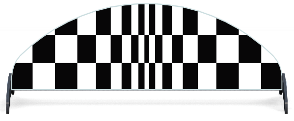 Fillers > Half Moon Filler > Chequered