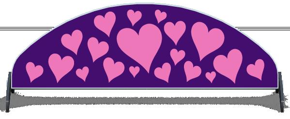Fillers > Half Moon Filler > Hearts