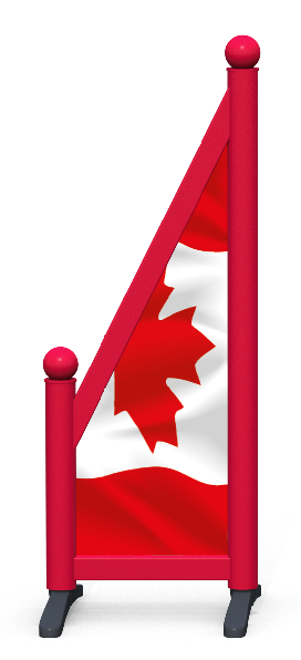 Wing > Sloping Printed > Canadian Flag