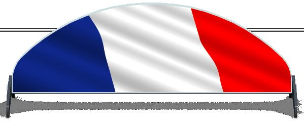 Fillers > Half Moon Filler > French Flag