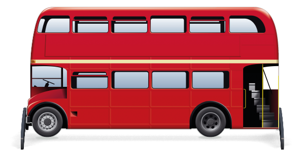 Fillers > London Bus Filler > Red Bus