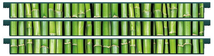 Planks > Straight Plank x 3 > Bamboo