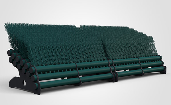 6 Layer Brush 3.5mtr - Dark Green